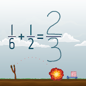 Adding Fractions Math Game