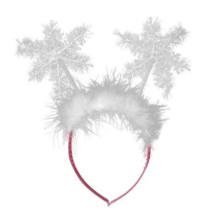 Diadem, snöflingor