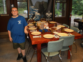 Photo: Ready for 10 hungry Boy Scouts