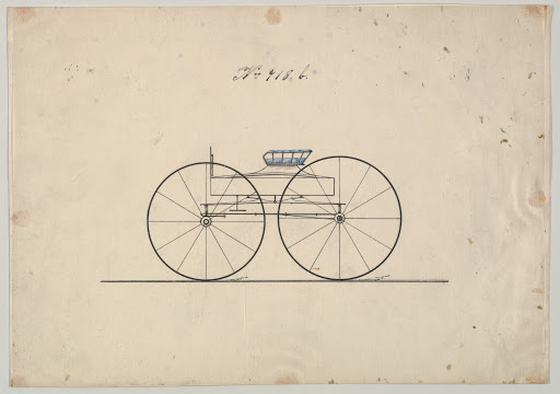 Design for Wagon, no. 718b
