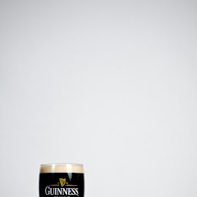 Pint o' the Black by Chris Couper - Food & Drink Alcohol & Drinks ( stout, pint, guinness, beer, black )