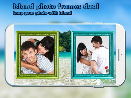 Island Photo Frames - Dual