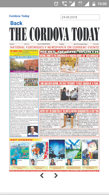 Cordova Today Educational News Paper – (Android Apps) — AppAgg