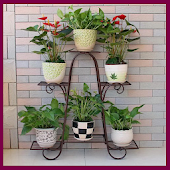 Iron Flower Pot Shelf Android APK Download Free By Joming Wallpaper