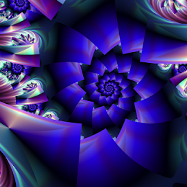 Spiral 75 by Cassy 67 - Illustration Abstract & Patterns