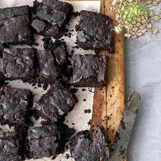 Dark Chocolate Avocado Brownies