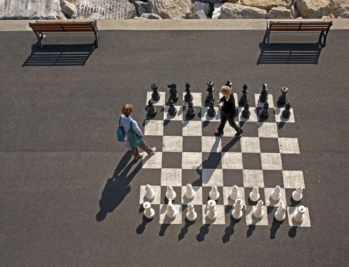Partita a scacchi di vagero