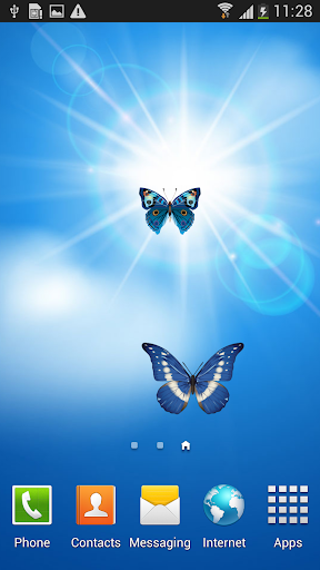 Sun and Butterfly LWP