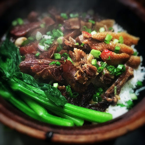chinese, chinese Preserved Meat, Clay pot Rice, Lap Mei Fan, recipe, 臘味飯, cantonese