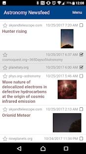 Astronomy News - náhled