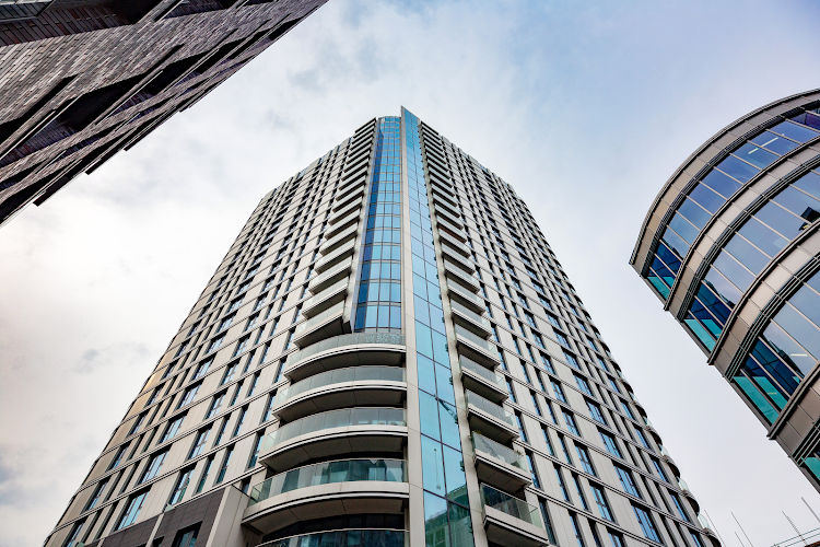 Exterior of Altitude Point Serviced Apartments, Aldgate