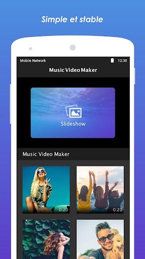 Fabricant de vidéos musicales screenshot 1