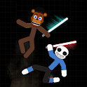 Stickman Fight Sans vs Freddy icon