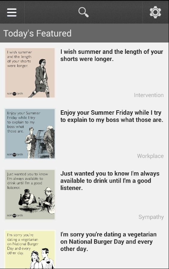 Someecards- screenshot