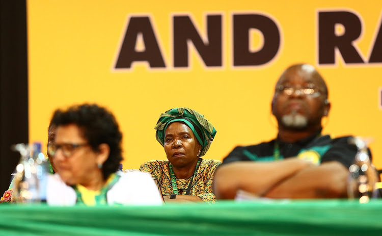 ANC presidential hopeful Dr Nkosazana Dlamini-Zuma during the 54th ANC National Elective Conference held at Nasrec. Picture: MASI LOSI