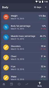 Gym Workout Planner, Strength & Weight Training 8