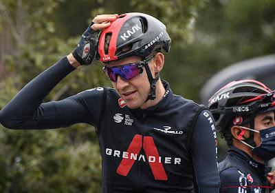 Pech voor Belgische renner van Team INEOS Grenadiers: hij kampt met een virale infectie en zal zo even niet in het peloton te zien zijn