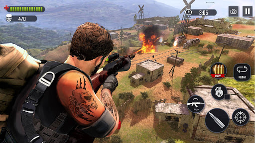 Battleground Fire Cover Strike: Free Shooting Game Apk 2