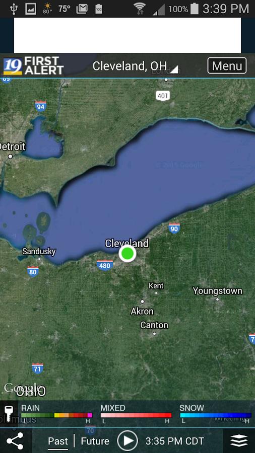 Cleveland19 FirstAlert Weather- screenshot