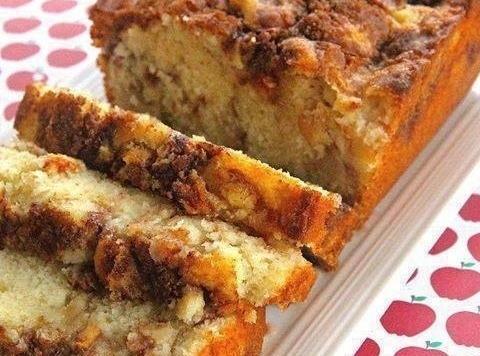 Apple Cinnamon Loaf Recipe