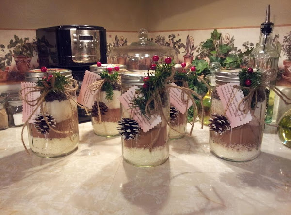 Peppermint Cocoa Mix In A Jar Recipe