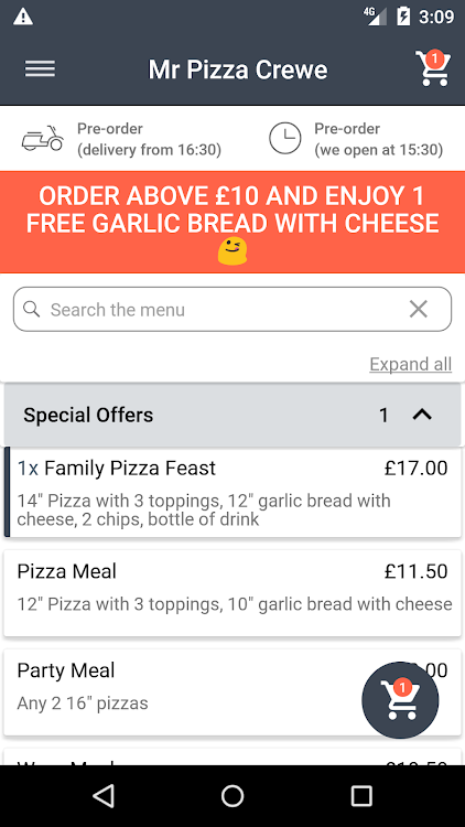 Mr Pizza Crewe Android Apps Appagg