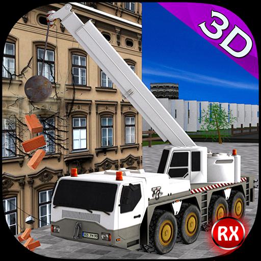 クレーン:建物の破壊 模擬 App LOGO-硬是要APP