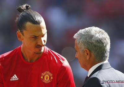 Mourinho a peur que Zlatan Ibrahimovic se blesse