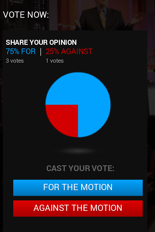 IQ2US Debates- screenshot