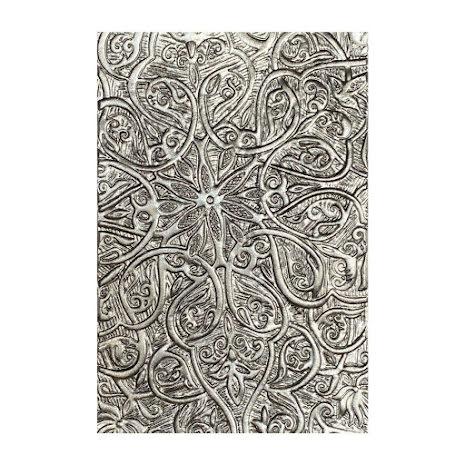 Tim Holtz Sizzix 3-D Texture Fades Embossing Folder - Engraved