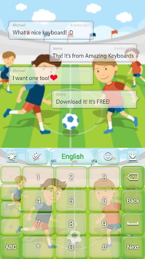 無料个人化AppのスポーツのGOキーボード|記事Game