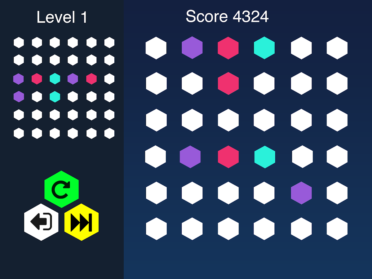 Hexmatch- screenshot