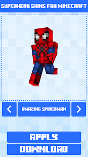 Superhero Skins for Minecraft PE 🎮 21