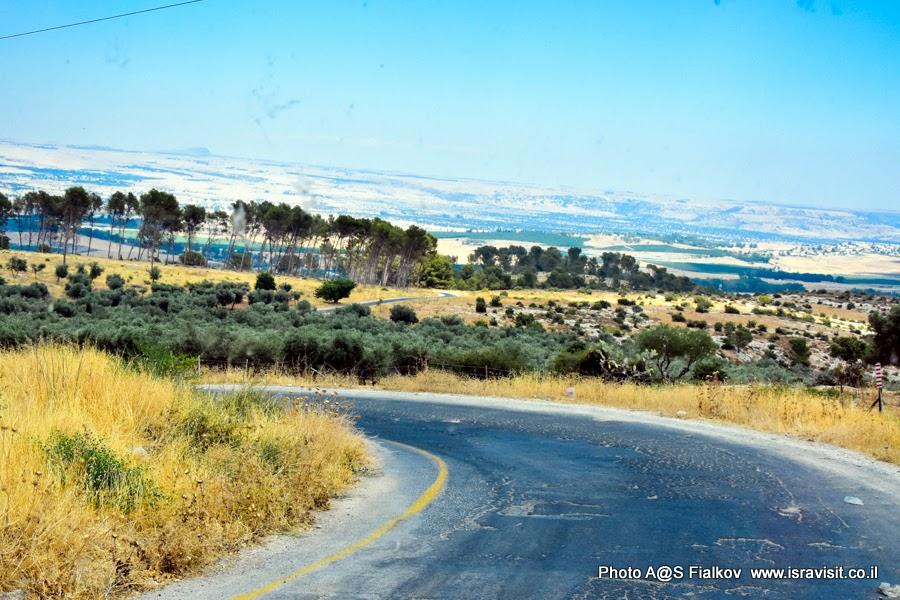 Путешествия и экскурсии в Израиле. Галилея.