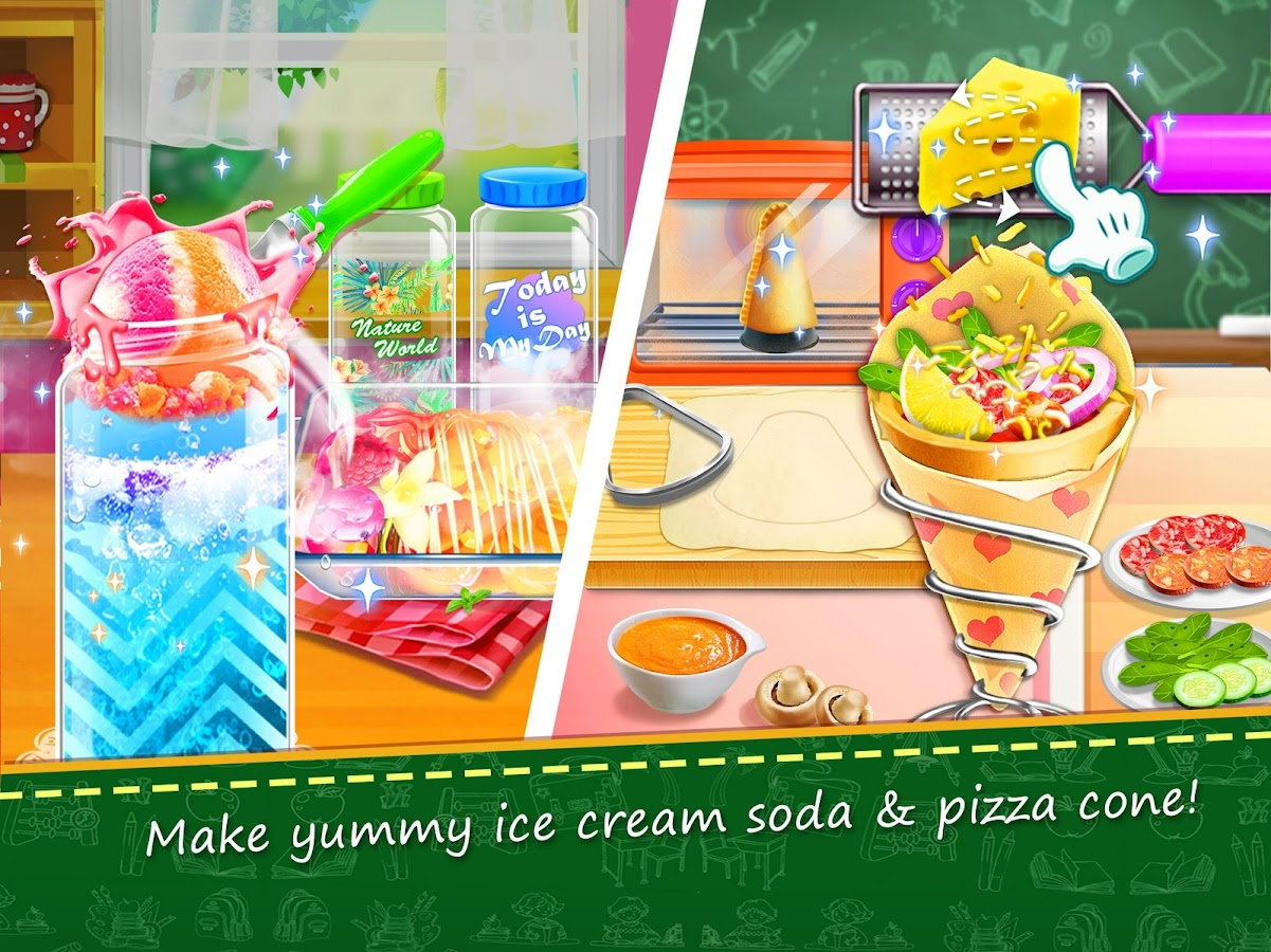 School Lunch Food Maker 2- screenshot
