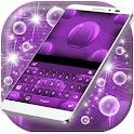 Purple Sphere Theme Keyboard icon