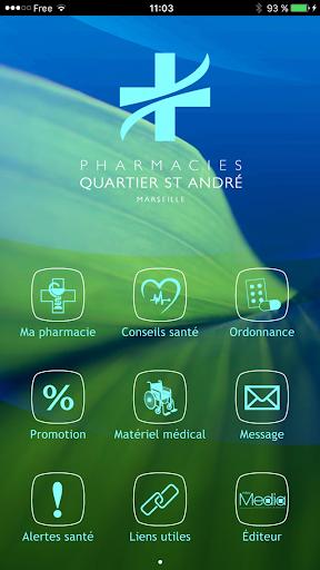 Pharmacies Quartier St André