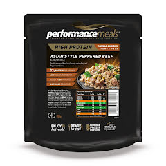 Performance Meal, Asian Style Pepperd Beef