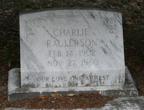 Photo: Charles Raulerson son of William M Raulerson and America Texas Dinkins /