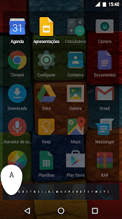 AOSP Launcher Screenshot