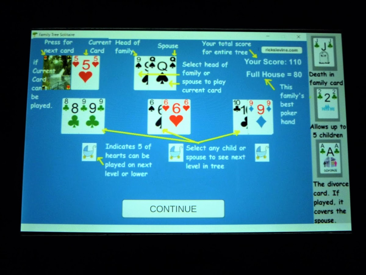 Family Tree Solitaire- screenshot