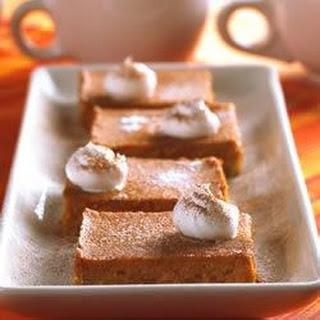 Pumpkin Pie Squares