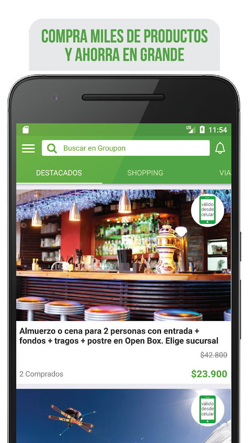 Groupon Latinoamérica- screenshot