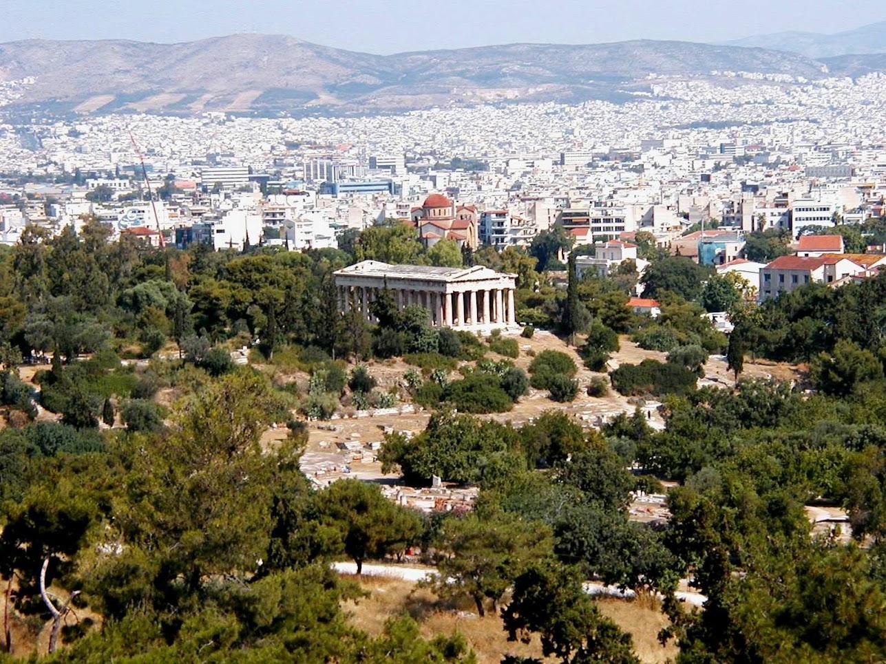 Cosa vedere Atene antica Agorà