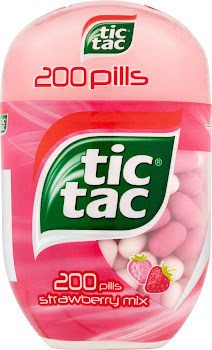 Tic Tac 200 Strawberry Mix - 98g