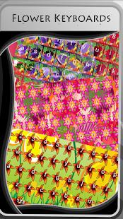 Flower Keyboards - náhled