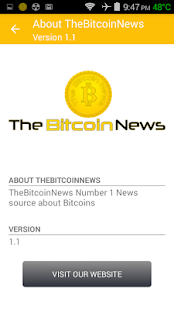 The Bitcoin News- screenshot thumbnail