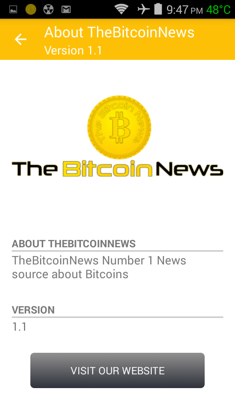 The Bitcoin News- screenshot