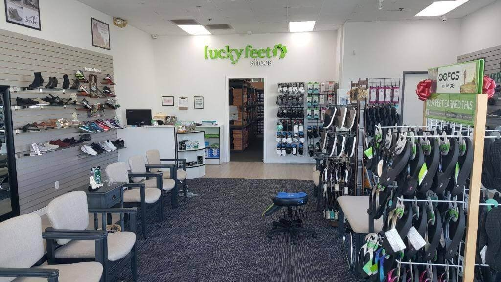 8201a26f22 Visit us at Lucky Feet Shoes in Santa Ana to find out why our customers  keep coming back! We'll help find the best foot pain shoes in Santa Ana.