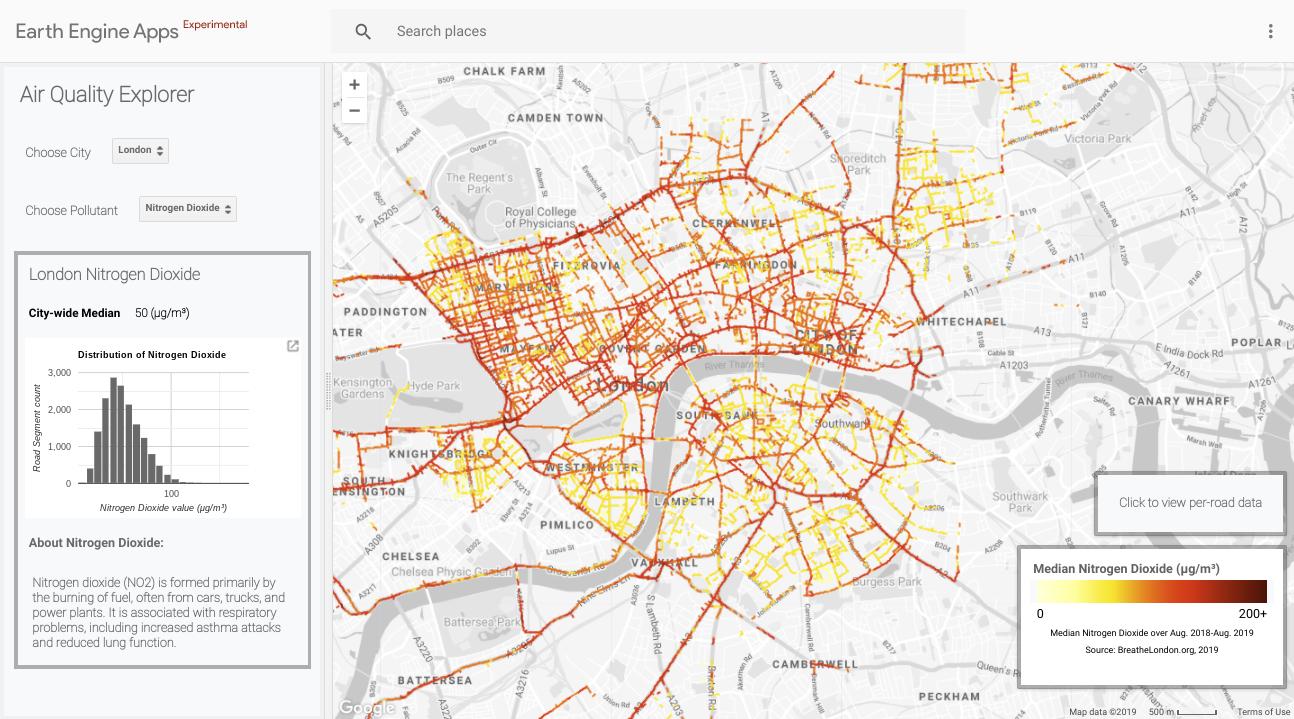 Air Quality – Google Earth Outreach